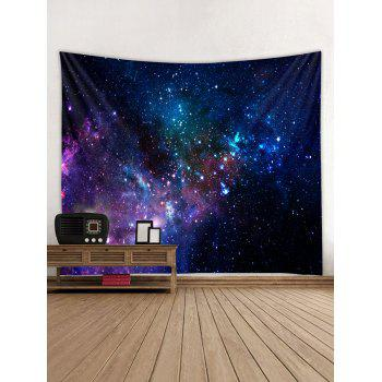 Colorful Galaxy Print Tapestry Wall Art - multicolor W91 INCH * L71 INCH