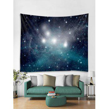 Wall Art Decoration Starry Sky Print Tapestry - multicolor W59 INCH * L59 INCH