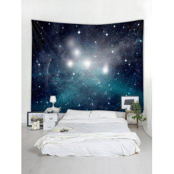 Wall Art Decoration Starry Sky Print Tapestry - multicolor W59 INCH * L51 INCH