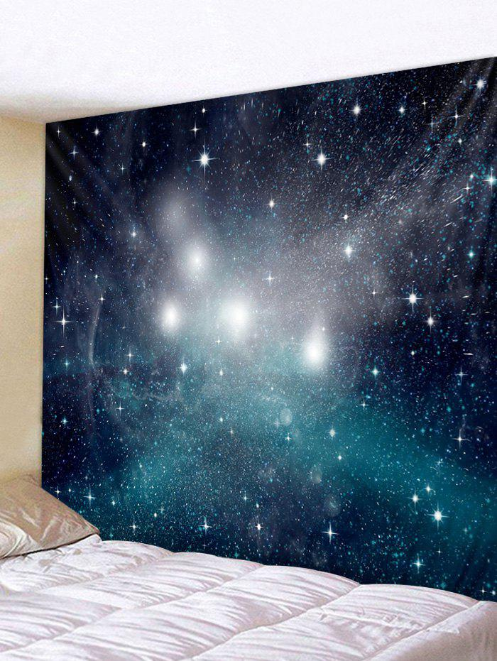 Wall Art Decoration Starry Sky Print Tapestry - multicolor W91 INCH * L71 INCH