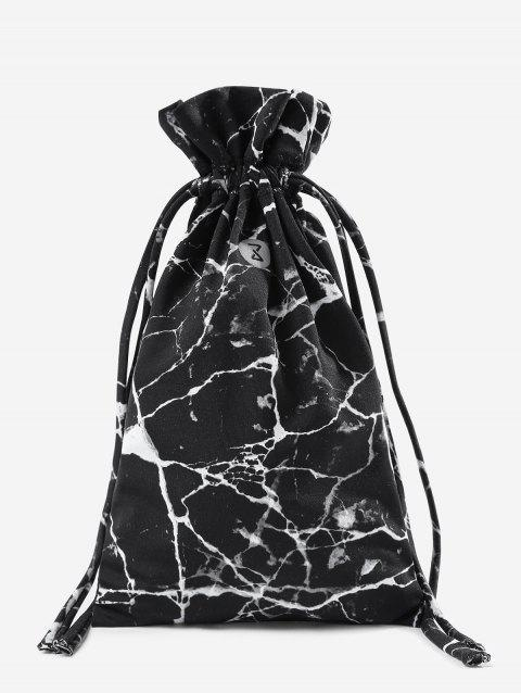 Marble Gym Storage Bag - BLACK