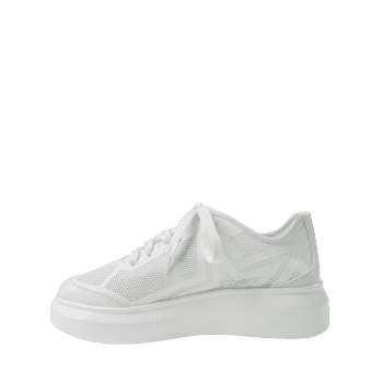 Breathable Low Heel Chic Sneakers - WHITE 39