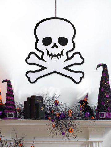 Halloween Crossbones Skull Wall Hanging Decoration
