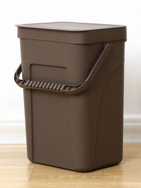 Plastic Wall-mounted Trash Can - COFFEE SIZE L