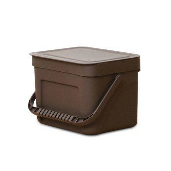 Plastic Wall-mounted Trash Can - COFFEE SIZE S