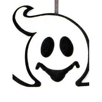 Halloween Ghost Hanging Art Decor - multicolor