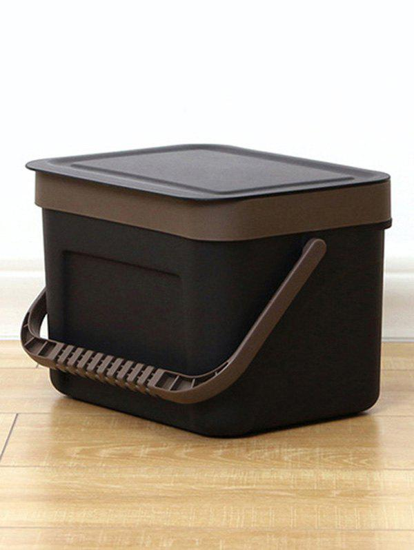 Plastic Wall-mounted Trash Can - BLACK SIZE S
