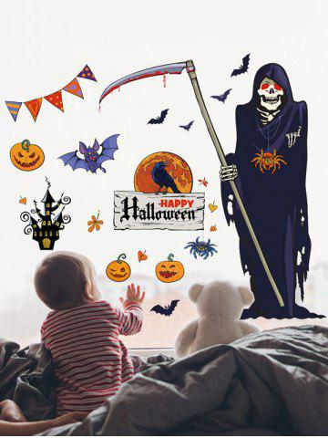 Halloween Death Print Wall Art Stickers