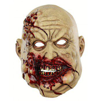 Blood Butcher Mask Halloween Accessories - multicolor