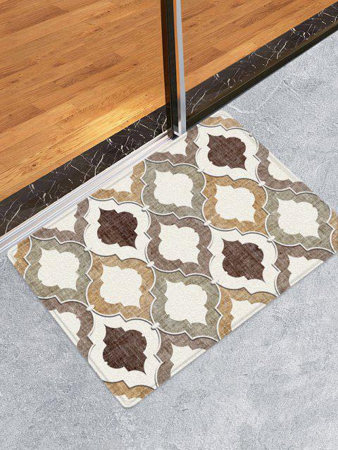 Geometric Printed Water Absorption Area Rug - multicolor W20 INCH * L31.5 INCH