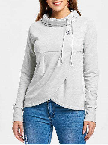 bb073f54272 2019 Cowl Neck Sweatshirt Online Store. Best Cowl Neck Sweatshirt ...