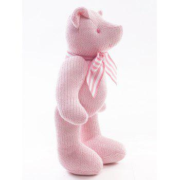 Beer Knit Plush Toy - PINK