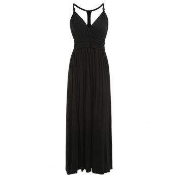 Racerback Maxi Dress - BLACK L