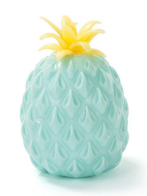 Pineapple Slow Rising PU Squishy Toy - BLUE