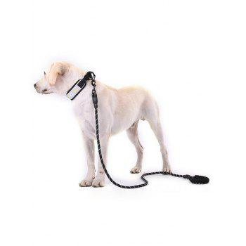 Nylon Dog Rope Leash - BLACK