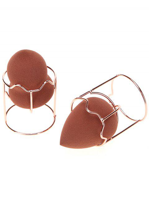 2 Pcs Cat Shape Makeup Sponge Holder - ROSE GOLD