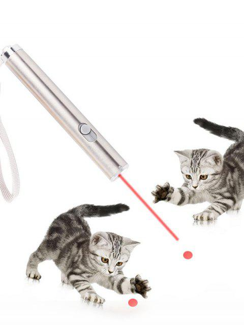 Chase Cats Toy Laser Interactive LED Light - SILVER