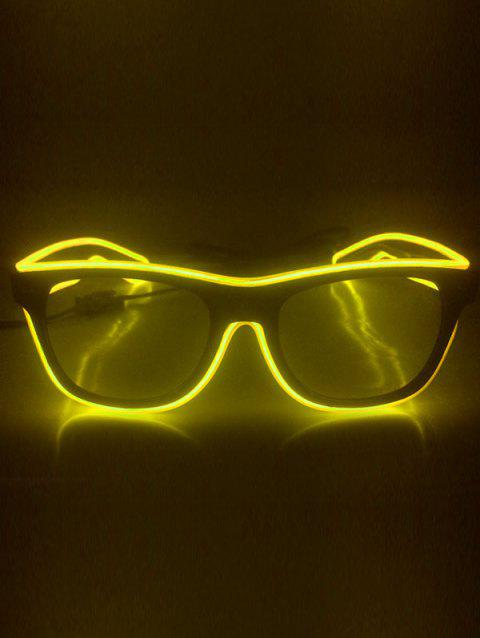EL Glowing Glasses Party Cosplay - YELLOW