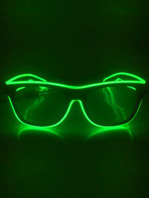 Lunettes Lumineuses pour Fête Cosplay - Chartreuse
