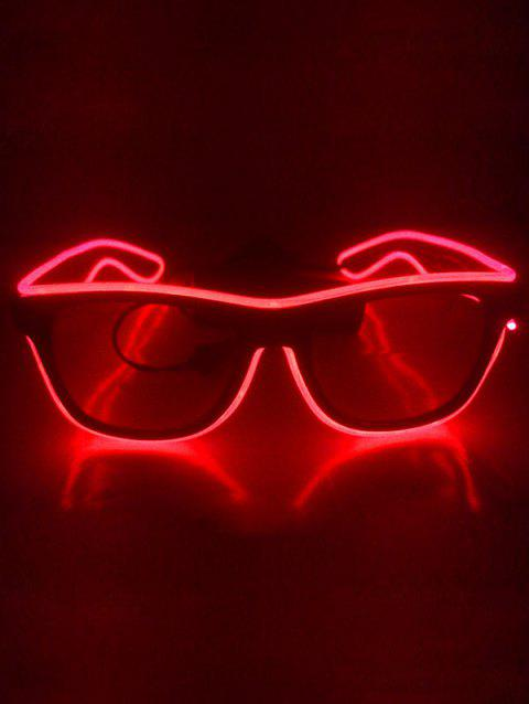 EL Glowing Glasses Party Cosplay - FIRE ENGINE RED