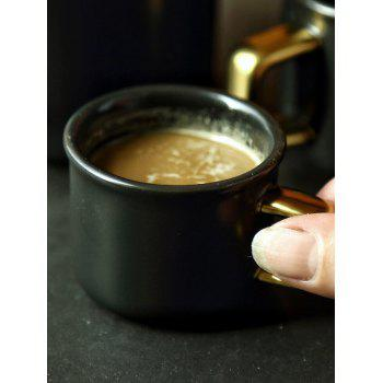 Ceramic Coffee Mug - BLACK 7*7*6CM