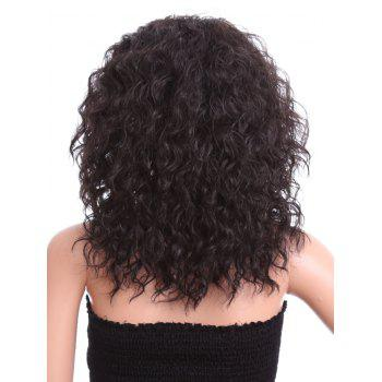 Free Part Medium Water Wave Synthetic Lace Front Wig - NIGHT