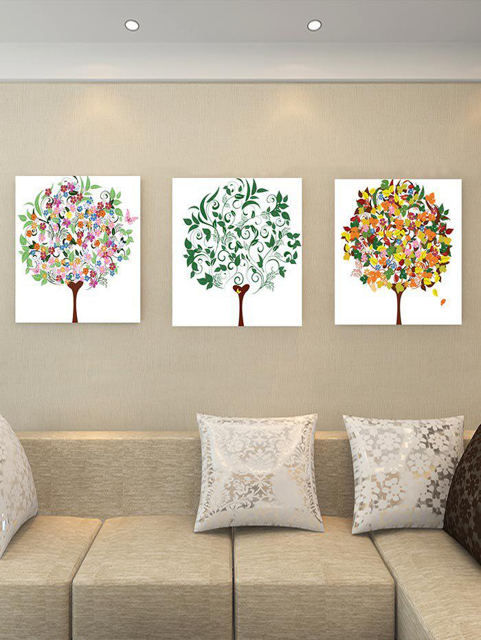 2018 Unframed Tree of Life Canvas Paintings multicolor PC: INCH( NO ...