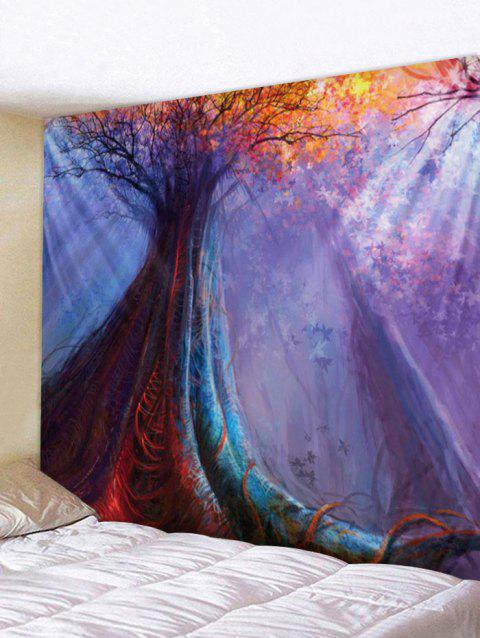 Fantasy Forest Printed Wall Art Tapestry - multicolor W79 INCH * L71 INCH