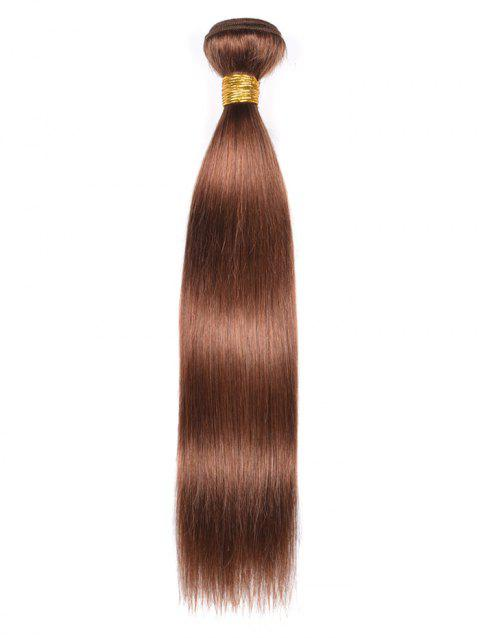 Indian Virgin Straight Real Human Hair Weave - PUCE 12INCH