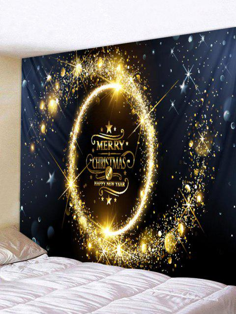 Merry Christmas Tapisserie Décoration Murale - multicolor W79 INCH * L59 INCH