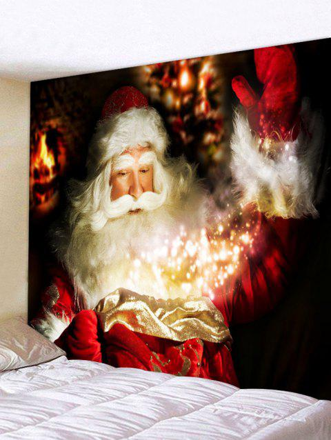 2018 3D Santa Claus Tapestry Wall Art Home Decor In multicolor W91 ...