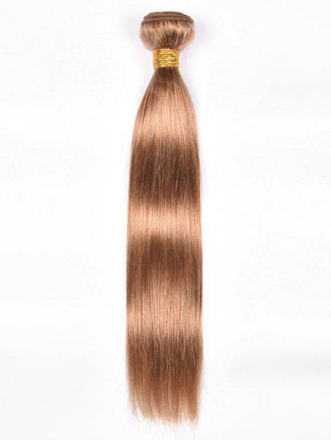 Extension de Cheveux Humains Vierges Indiens Lisses - Or 20INCH