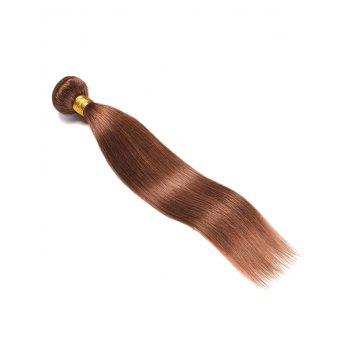 Indian Virgin Straight Real Human Hair Weave - PUCE 16INCH