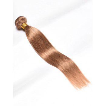 Extension de Cheveux Humains Vierges Indiens Lisses - Or 18INCH
