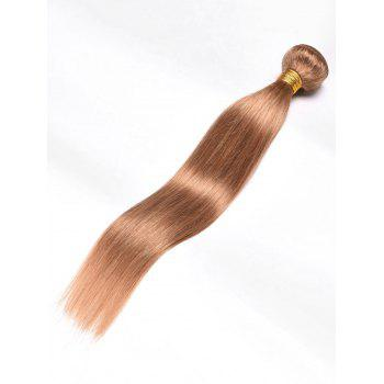 Extension de Cheveux Humains Vierges Indiens Lisses - Or 24INCH