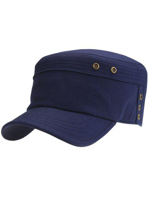 2018 Unique Striped Pattern Army Hat CADETBLUE In Hats Online Store ... f96805636c5