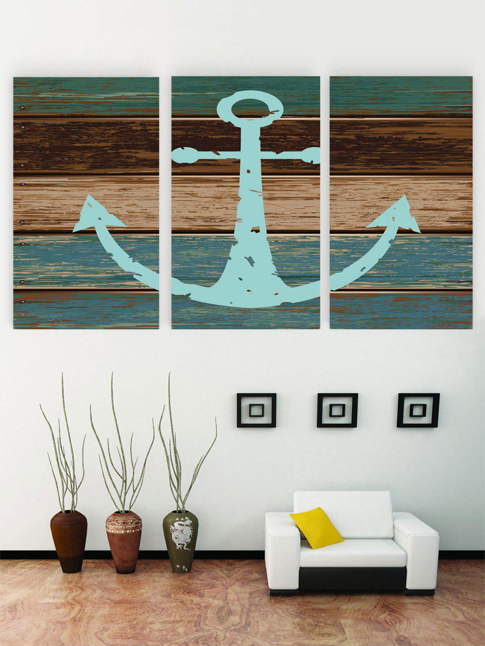 Unframed Anchor Wooden Print Canvas Paintings