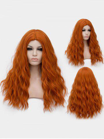 Long Center Parting Natural Wavy Cosplay Lolita Synthetic Wig 6dee70f04b