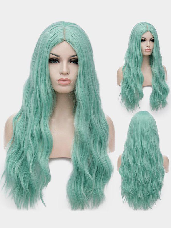 dresslily - Middle Part Long Natural Wavy Synthetic Anime Cosplay Wig