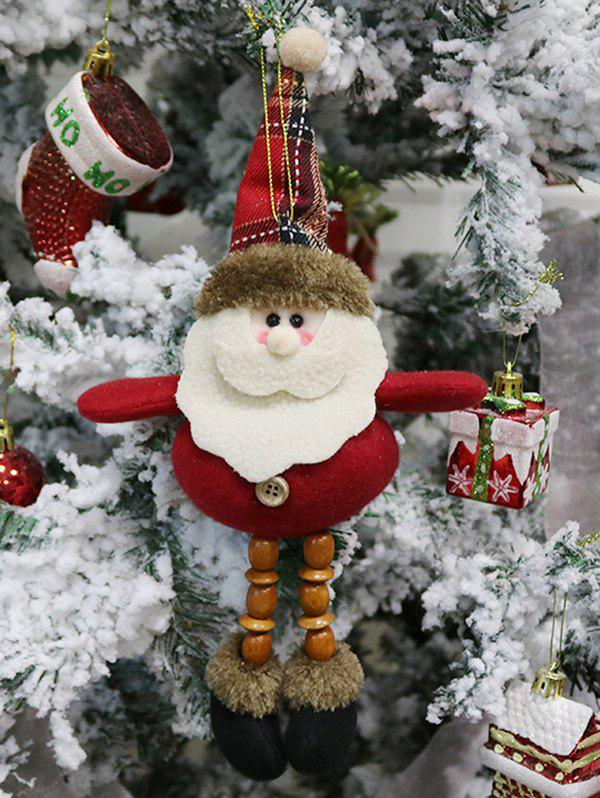 Santa Claus Doll Christmas Tree Hanging Decoration - RED