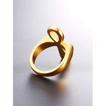 Egypt Alloy Biker Ring - GOLD US 12