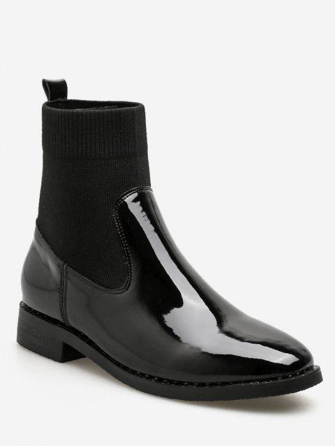 Slip-on Chelsea Ankle Boots - BLACK EU 39