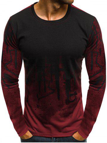 952014bb24d6 Ink Art Paint Print Long Sleeve T-shirt