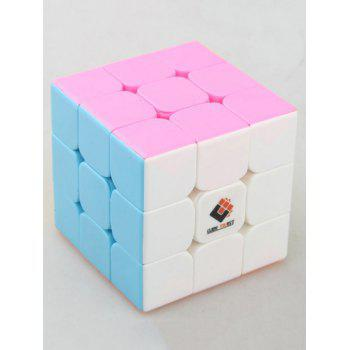 56mm QiYi Black panther 3x3 Speed Cube Magic Cube Toy - multicolor