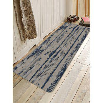 Retro Wood Grain Pattern Anti-skid Area Rug - multicolor W16 X L47 INCH