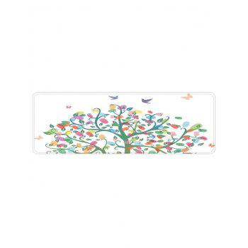 Colorful Tree Pattern Anti-skid Area Rug - WHITE W16 X L47 INCH
