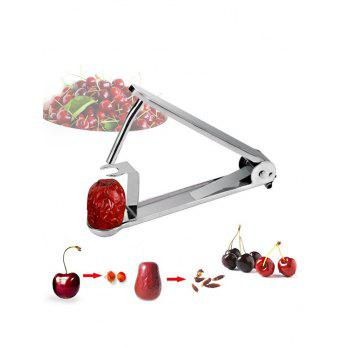 Stainless Steel Cherry Pitter - SILVER