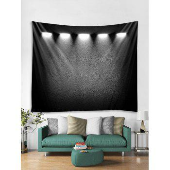 Spotlight Print Wall Tapestry Art Decor - multicolor W79 X L71 INCH