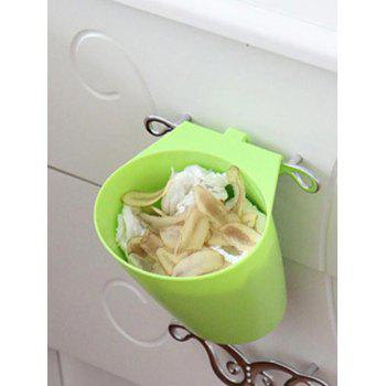 Wall-mounted Trash Can - GREEN YELLOW