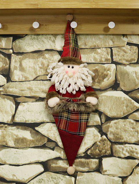 Christmas Decoration Gift Hanging Doll Bag - multicolor A